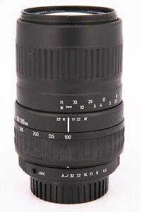 SIGMA 100-300mm f/4.5-6.7 DL AF Pentax  Professionally tested
