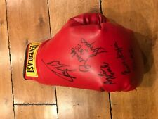 Everlast Boxing glove MULTI (5) signed Larry Holmes Emile Griffith Qawi Morales