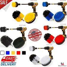 Set 4 Pack Drill Brush Power Scrubber Cleaning Brush Extended Long Attachment