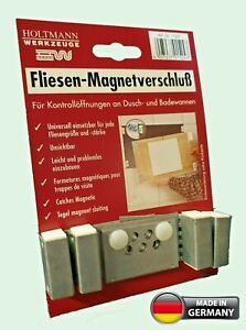 Magnetic access panel tiled magnetic catches access panel kit hatch inspection
