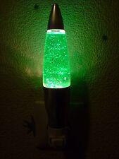 Lava Glitter Lampe Grün Nachtlicht Kinderlicht B-Ware