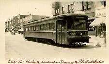 7A824 RP 1940s PHILADELPHIA & SUBURBAN TRANSPORTATION RAILWAY CO CAR #80
