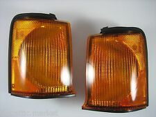 99-02 Land Rover Discovery II Front Turn Signal Marker Lamp Light Set Allmakes