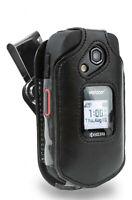Kyocera DuraXE & DuraXV LTE Leather Case w/ D-Ring Swivel Belt Clip E4710 E4610