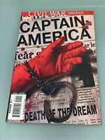 CAPTAIN AMERICA # 25 (2007) DEATH OF CAPTAIN AMERICA BRUBAKER EPTING 1ST PRINT