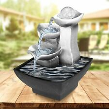Indoor Fountain Desktop Waterfall Relaxation Feng Shui Water Sound Small Decors