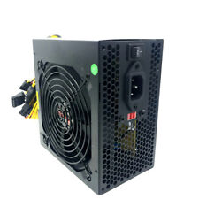 "680 WATT 680W POWER SUPPLY for Intel AMD PC Desktop Computer NEW 4.5"" Fan Gold"