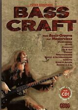 Bass Craft von Basic Groove zur Masterclass inkl. CD  - Noten