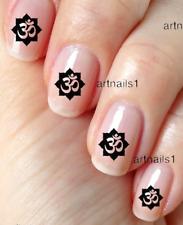 Yoga Om Nail Art Nails Water Decals Stickers Salon Polish Manicure Mani Pedi