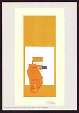 1970s Vintage Robert Motherwell Offset Lithograph Abstract Art Print c