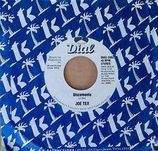 JOE TEX - DISCOMONIA - DIAL 45 - WHITE LABEL PROMO - 1979