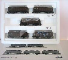 Märklin H0 46096 Freight Wagon Set Coal Transport New Condition Original Box