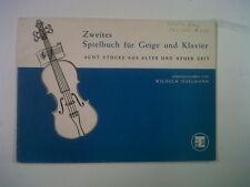 Violon zweites spielbuch fuer Geige + piano isselmann
