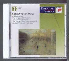 GABRIELI IN SAN MARCO (CD NEW ) POWER BIGGS GABRIELI CONSORT LA FENICE