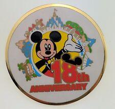 Tokyo Disneyland TDL 18th Anniversary Mickey Trading Pin 4767 Japan Disney