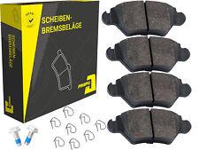 Satz Priopa Bremsbeläge Bremsklötze Hinterachse Opel Astra G Zafira A