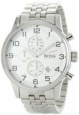 Men's Watch Hugo Boss 1512445 Classic Watches Chrono Stainless Steel Date Quartz