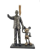 Disney Store Walt Disney and Mickey Mouse Hanging Ornament