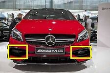 NEW GENUINE MERCEDES BENZ A45 CLASS W176 AMG FRONT AIR DUCT GRILL HOLDER SET L+R
