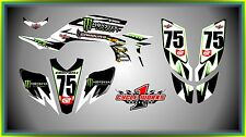 Yamaha YFZ 450 04-09  SEMI CUSTOM GRAPHICS KIT Jason