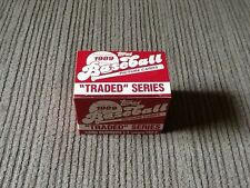 "Topps 1989 Baseball Picture Cards, ""Traded"" Series, Card #s 1-T - 132-T"