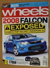 Wheels Mar 2007 Ford Focus XR5 Turbo HSV VXR Mitsubishi EVO IX TMR 220 & TMR 380