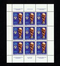 (SBAA 274) Yugoslavia 1974 MNH Football World Cup FIFA Soccer Sheet
