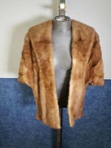 Wells-Treister Women's Mink Fur Shawl