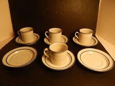 Dansk Designs Blue Mist Coffee Cup & Saucer Mug Niels Refsgaard Denmark 10 pcs.