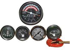 David Brown Tractor Tachometer + Tempe + Oil Pressure + Ammeter + Fuel Gauge