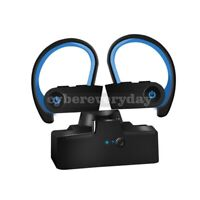 Wireless Earbuds Sport HiFi stereo sound Bluetooth 5.0 Hook Manual Pairing