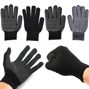 2pcs Heat Proof Resistant Protective Gloves for Hair Styling Tool Straightene-qk