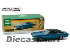 Greenlight 1:18 1970 Dodge Charger 500 Diecast Model Car 13530 Blue New In Box
