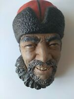 """Vintage Bossons Chalkware """"Himalayan"""" Head ~ Excellent condition."""