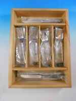 Madrigal by Lunt Sterling Silver Flatware Set for 6 Service 30 pieces New Unused