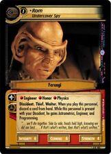 Star Trek CCG 2E Call To Arms Rom, Undercover Spy 3R183
