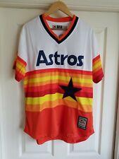 NWT Craig Biggio Houston Astros Men's 1982-1993 Style Retro SEWN Jersey Size M