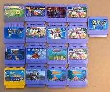 Lot of 17 Vtech V.Smile V.Motion Learning System Game Cartridges Batma Toy Story