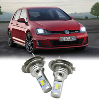 2x H7 LED Scheinwerfer Birnen Lampen 6000k Weiß Abblendlicht Für VW für GOLF 4 5