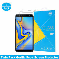 For Samsung Galaxy J4+ Plus 2018 Tempered Glass Shockproof Protector Screen 2PCS