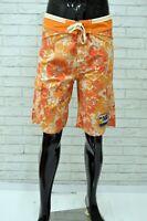 Costume NAPAPIJRI Uomo Taglia 46 Mare Piscina Bagno Shorts Pantaloncino a Fiori