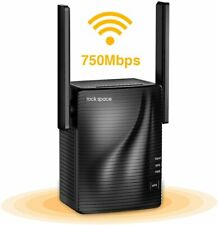 Rockspace WiFi Range Extender-2.4 & 5Ghz Dual Band Wireless Repeater,1292 sq.ft