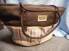 Wenzel 1887 Service For 4 Picnic Carrying Bag Basket New