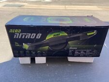 New Neon Nitro 8 One Wheel Electric Skateboard With Led Lights Onewheel Scooter