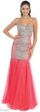 SALE ! MERMAID PROM DRESS FORMAL SWEET 16 PARTY RED CARPET EVENT GOWN UNDER $100