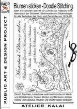 Padp-Script 10: Blumen Sticken - Doodle Stitching Oder Wie Sticken Schritt ...