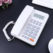 Business Landline Phone Lcd Screen Display Caller Id Telephone for Home Office G