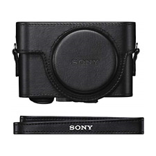 Sony Cybershot LCJRXF/B Jacket Case for RX100 Series - Black