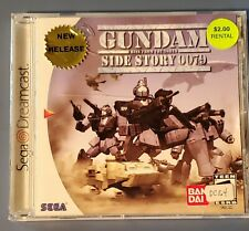 Sega Dreamcast Game Gundam Rise From The Ashes Side Story 0079 with Instructions