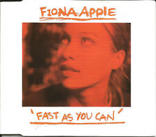 FIONA APPLE Fast as you can w/ LIVE & UNRELEASED CD single SEALED BEATLES TRK